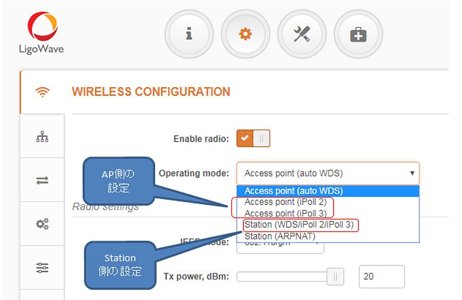 対策1. 現行のファームウェアを利用したまま、無線ブリッジ環境において、独自プロトコルであるiPollを利用した通信を行うこと