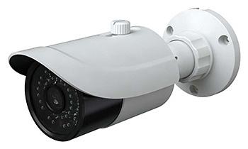 H.265圧縮/防水・防塵性能IP66対応ミニバレットカメラ HIC-SB4F368P-I