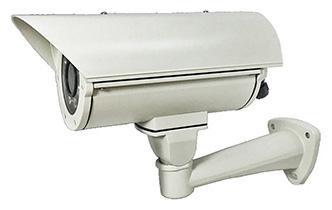 H.265圧縮/防水・防塵性能IP66対応 屋外ハウジング一体型カメラ HIC-SH4V8P-IL2A