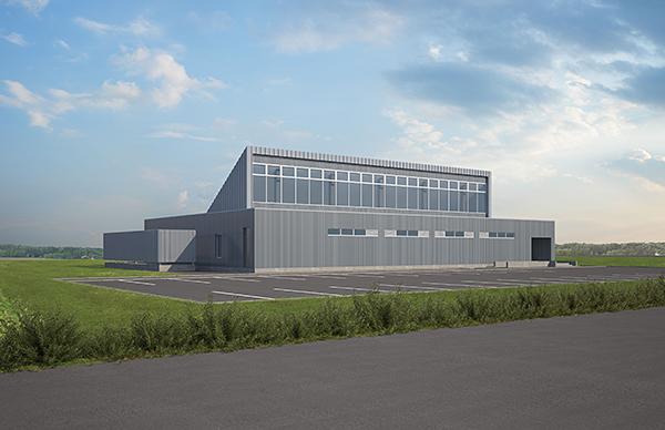 北海道開発テストセンター(仮称) 完成予想図